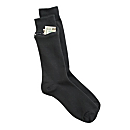 Set of 3 Pairs of Women's Zip-It Travel Socks