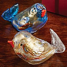 Italian Murano Glass Bird
