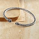 Sterling Silver Lao Bracelet