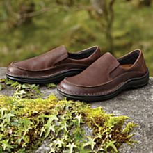Mens Leather Travel Walking Shoes