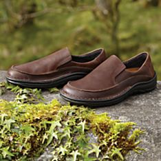 Durable Leather Mens Footwear