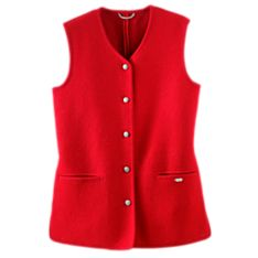 Boiled Wool Vests Jackets