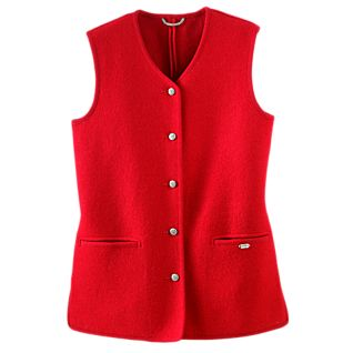 National Geographic Geiger Classic Austrian Boiled Wool Vest
