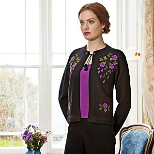 View Four O'Clock Floral Cardigan image