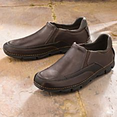Mens Walking Slip Ons
