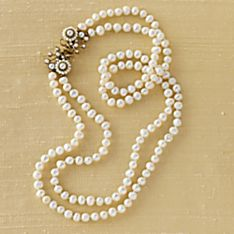 Handcrafted Caserta Palace Pearl Necklace