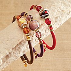Glass Jewelry Bracelets