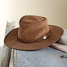 Suede Rancher Hat, Made in Missouri