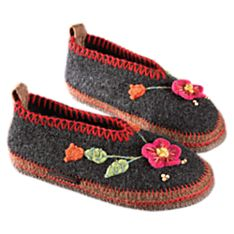 Women's Tyrolean Slippers