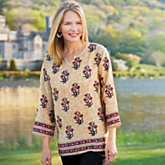 Women's Indian Silk Tunic