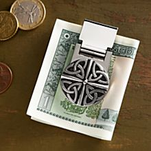 Handcrafted Celtic Pewter Money Clip