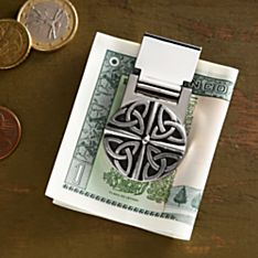 Celtic Pewter Money Clip