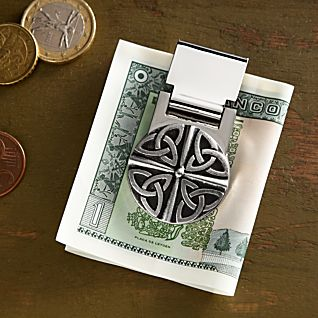 View Celtic Pewter Money Clip image