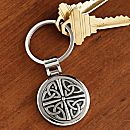 Celtic Pewter Key Chain