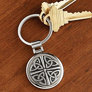 View Celtic Pewter Key Chain image