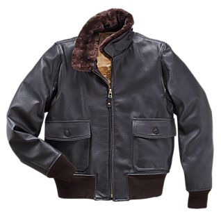 Men's Goatskin G-1 style Flight Jacket