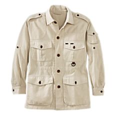 Men's Cotton Safari Jacket