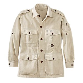 View Men's Cotton Safari Jacket image