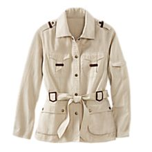 Women's Women's Cotton Safari Jacket