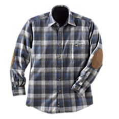 Men's Washable U.S. Wool Trail Shirt