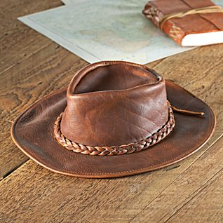 USA Leather Rancher Hat