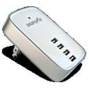 Digi Power 4-Port USB Travel Charger