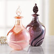 Italian Murano Glass Perfume Bottle
