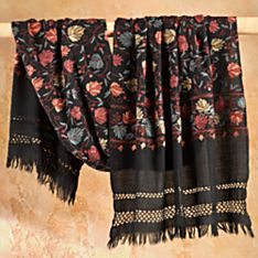 Indian Kashmiri Autumn Leaves Wool Shawl