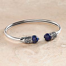 Handcrafted Hellenistic Bracelet - Lapis
