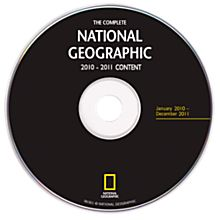 Complete National Geographic - 2010 and 2011 Annual Update DVD-ROM