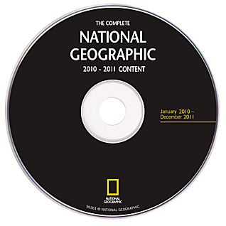 View Complete National Geographic - 2010 and 2011 Annual Update DVD-ROM image