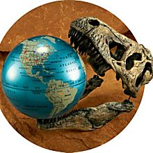 Ultimate Dinopedia Globe, Ages 6 and Up