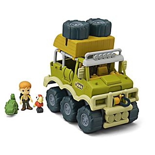 National Geographic Wild Rides Adventure Vehicle Set