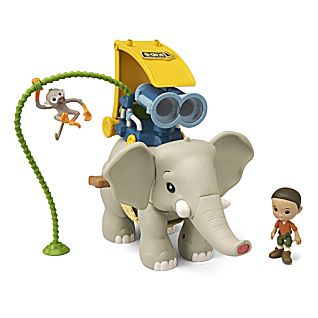 National Geographic Wild Rides Elephant Adventure Set