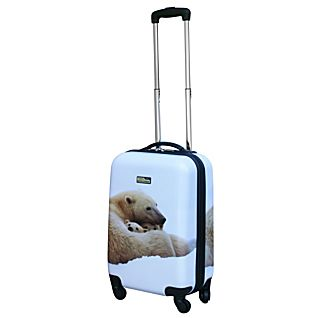 National Geographic Explorer 28-inch Polar Bear Hardside Luggage