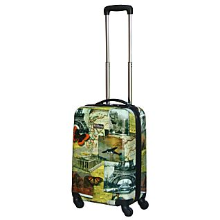 National Geographic Explorer 20-inch Collage Hardside Luggage