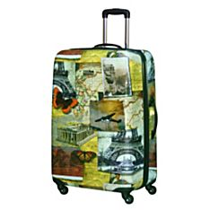 Explorer 28-Inch Collage Hardside Luggage