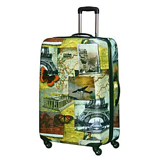 National Geographic Explorer 28-inch Collage Hardside Luggage