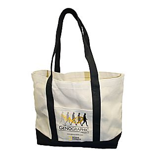View Genographic Project Tote Bag image