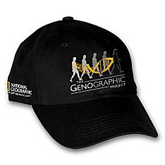 Imported Genographic Project Hat
