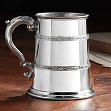 Handcrafted Celtic Pewter Tankard