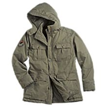 Canvasrugged Explorer's Long Jacket