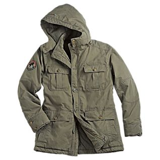 National Geographic Rugged Explorer's Long Jacket