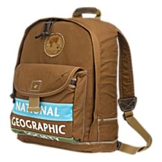 National Geographic Canvas Backpack