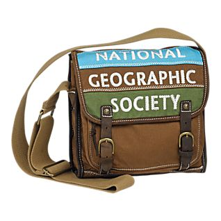 View National Geographic Canvas Messenger Bag image
