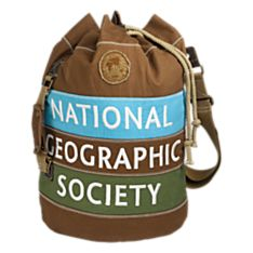 National Geographic Canvas Duffel Backpack