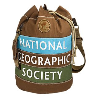 View National Geographic Canvas Duffel Backpack image