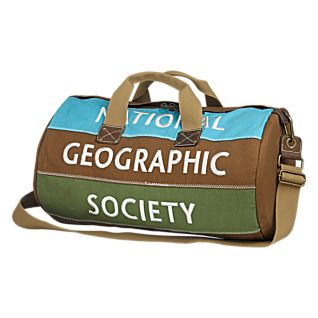 National Geographic Canvas Duffel
