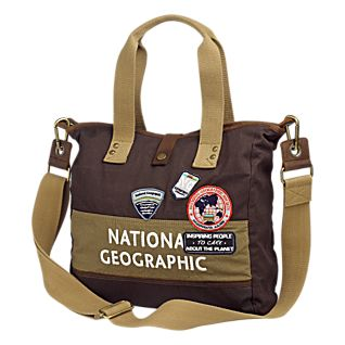 National Geographic Canvas Luggage Express Tote Bag