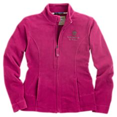 National Geographic Women's Zip-front Fleece Pullover